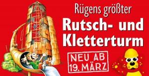 Rutschenturm ab 19.03.2016 in Zirkow